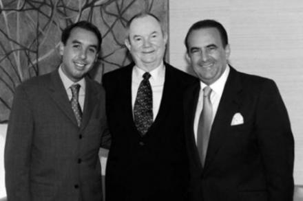 Emilio Azcarraga, Gustavo Cisneros y Jerry Perenchio